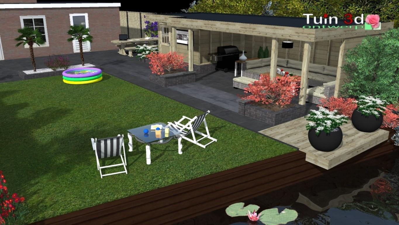 Tuin 3d tuinontwerp aanleg for 3d tuin ontwerpen